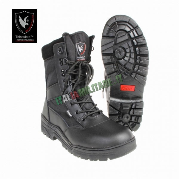 Anfibi Security Black SBB Neri
