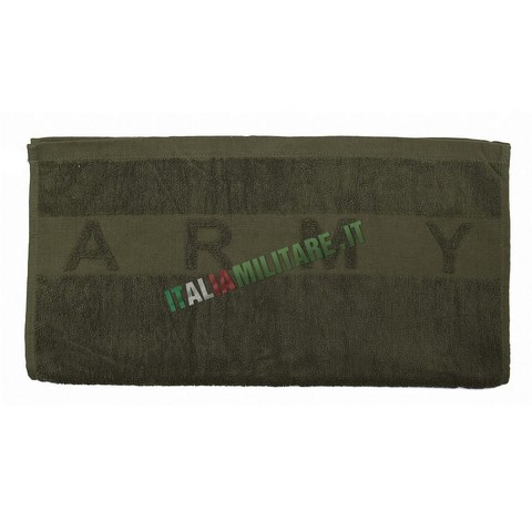 Asciugamano Militare in Spugna Army
