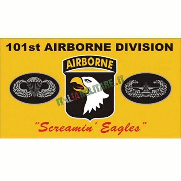 Bandiera Americana Airborne Divisione 101E