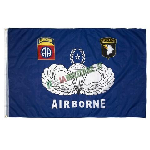 Bandiera Airborne Esercito Americano
