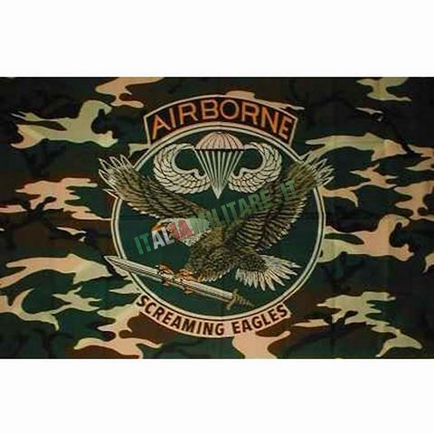 Bandiera Airborne Screaming Eagles