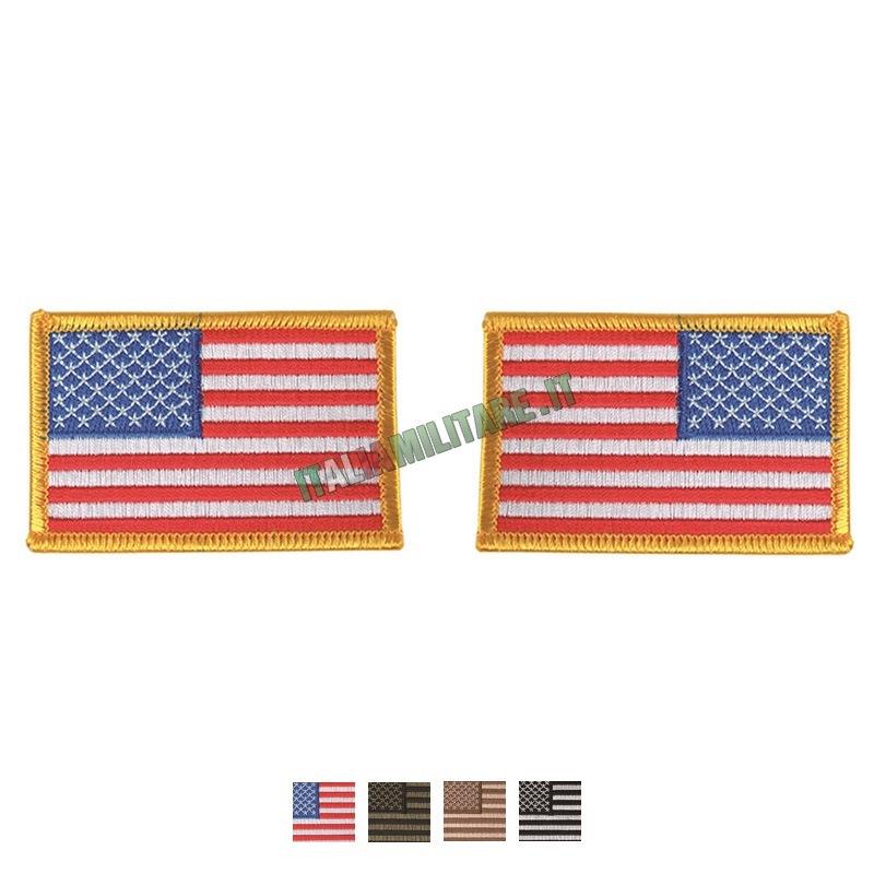 Patch Bandiera Americana U.S.A.