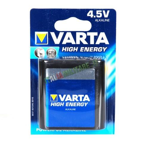 Batteria Varta Alkaline Tipo Piatta da 4,5 V