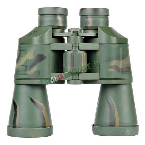 Binocolo Militare 10 x 50 in Fibra Mimetico