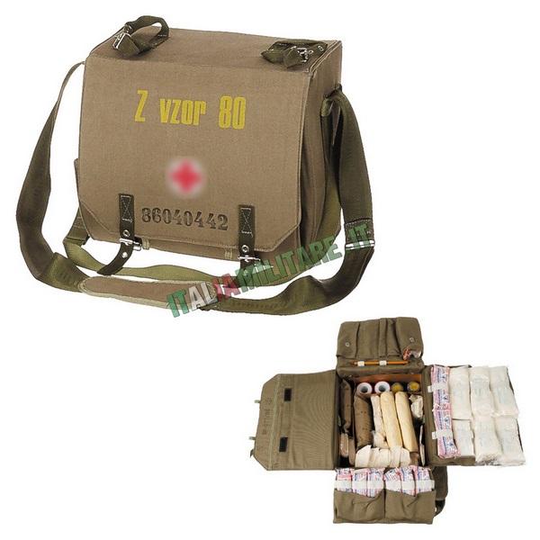 Borsa Medica Militare con Materiale Ceca
