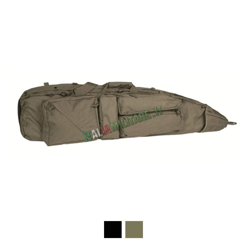 Borsa Porta Fucile 120 cm con Tasche SEK
