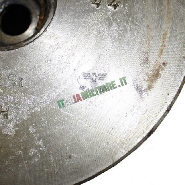 Bossolo di Cannone Originale WWII Tedesco con Logo Nazista