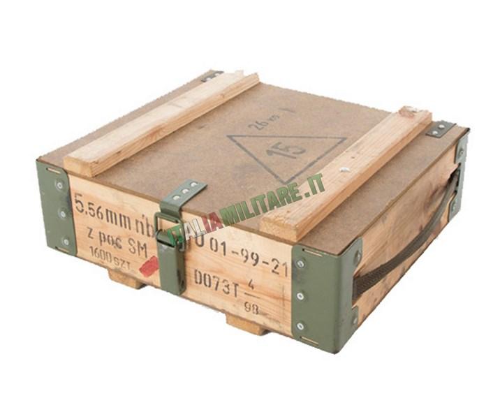 Box Munizioni 5.56 Militare Polacco Originale