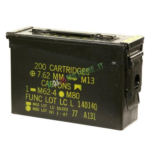 Scatola Box Munizioni Militare Tipo 1 Nato
