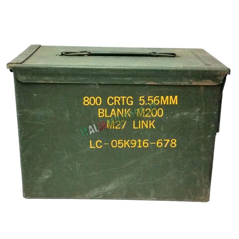 Scatola Box Munizioni Militare Tipo 3 Nato