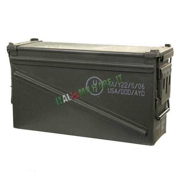 Scatola Box Munizioni Militare Tipo 5 Nato