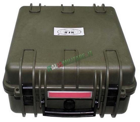 Contenitore Militare Stagno con Schiuma Espansa 36x42x19,5