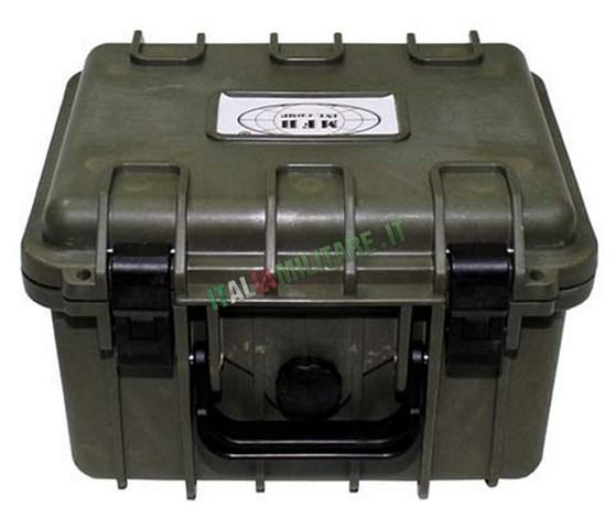 Contenitore Militare Stagno con Schiuma Espansa 27x24x17,5