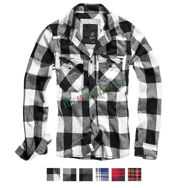 Camicia Brandit Check Shirt