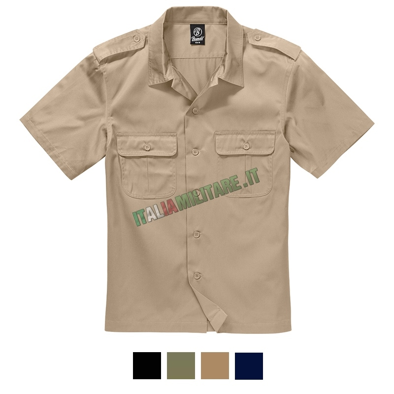 Camicia Brandit US HMD Manica Corta