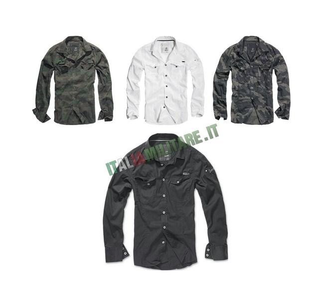 Camicia Brandit Slimfit Shirt