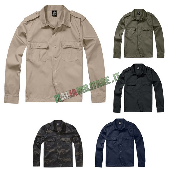 Camicia Brandit US Hemd Manica Lunga