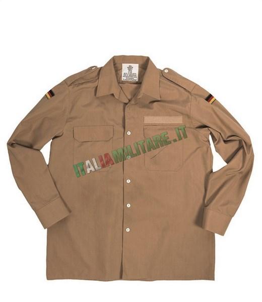 Camicia Marina Militare Tedesca Khaki Tropical