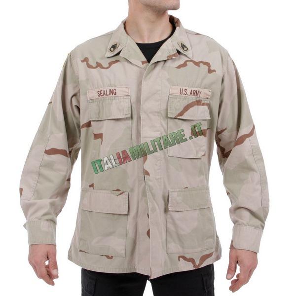 Camicia Giacca Militare Americana Originale Desert 3 Colori