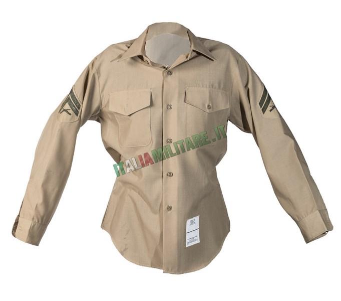 Camicia da Uniforme Militare USMC Marines Originale