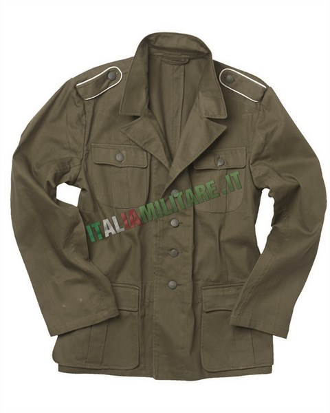Giacca Militare Tedesca WWII Wehrmacht M40 Tropical