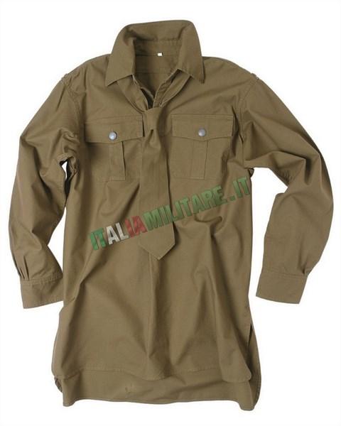 Camicia con Cravatta Tedesca WWII Wehrmacht Tropical