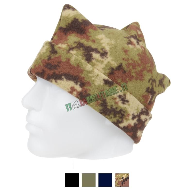 Cappello in Pile Tre Punte Militare