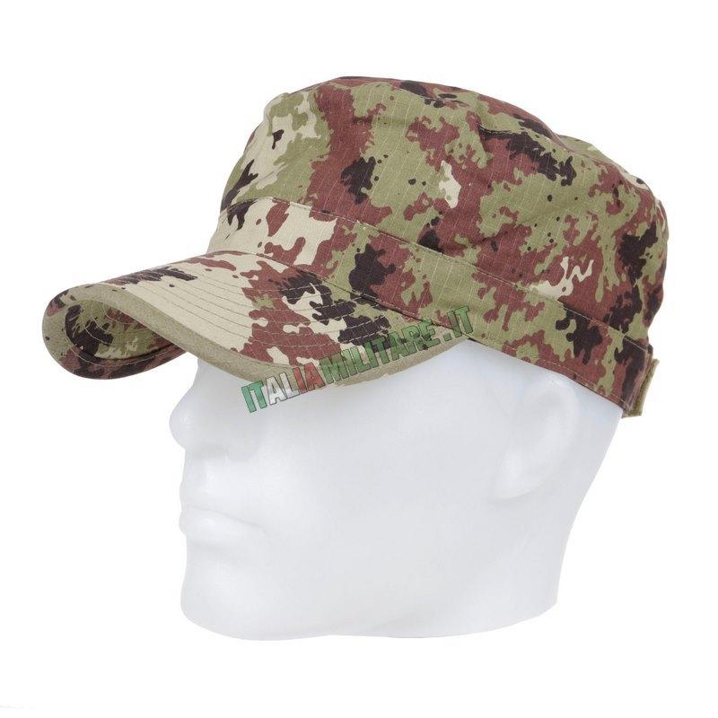 Cappello Militare OMD Vegetato con Visiera