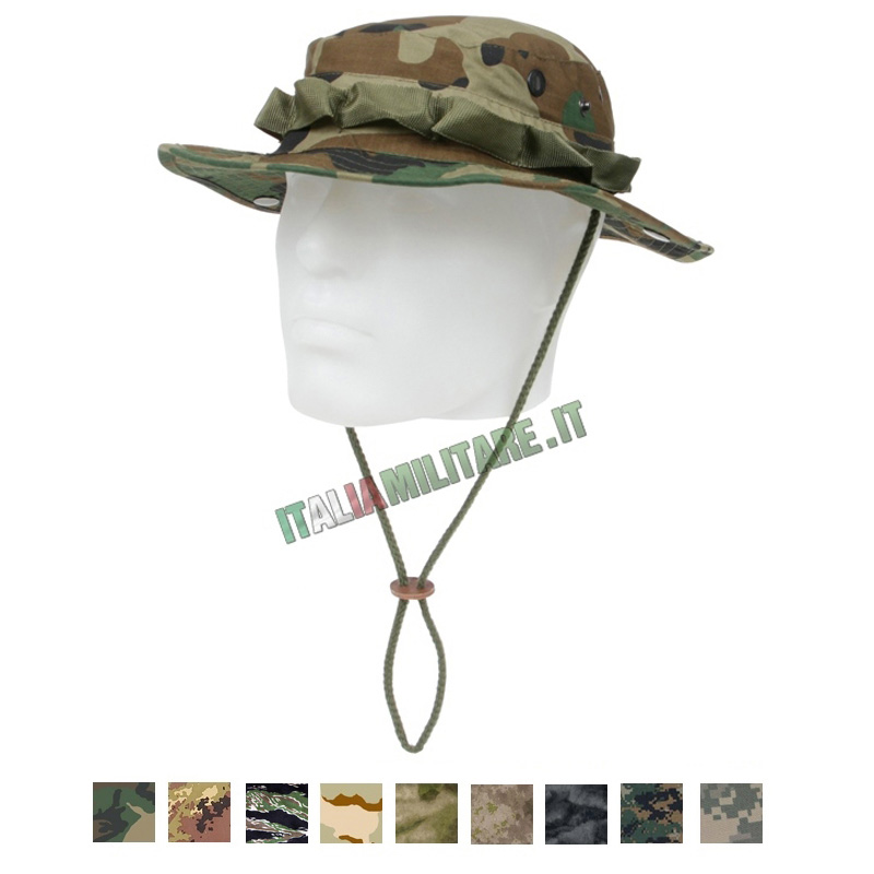 Cappello Militare Jungle Mimetico