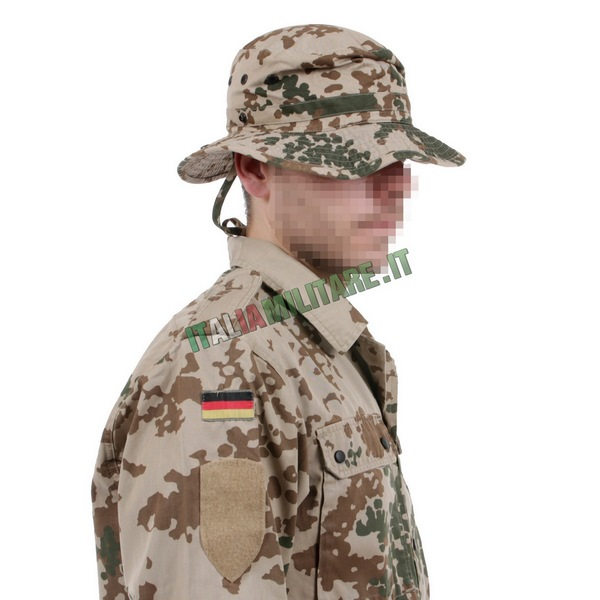 Cappello Militare Tropentarn Tedesco Originale Jungle