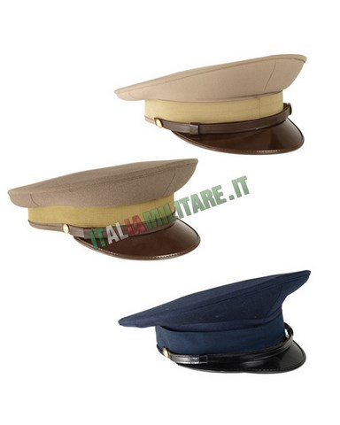 Cappello da Uniforme Militare Italiano Drop Originale