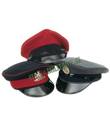 Cappello da Uniforme Militare Inglese Originale