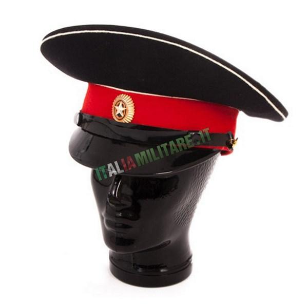 Cappello Russo da Cadetto Militare Originale