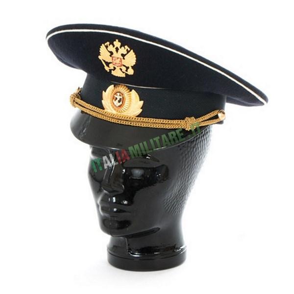Cappello Russo da Ufficiale di Marina Militare Originale
