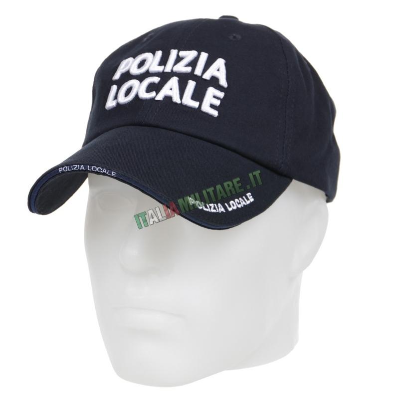 Cappello Polizia Locale Blu