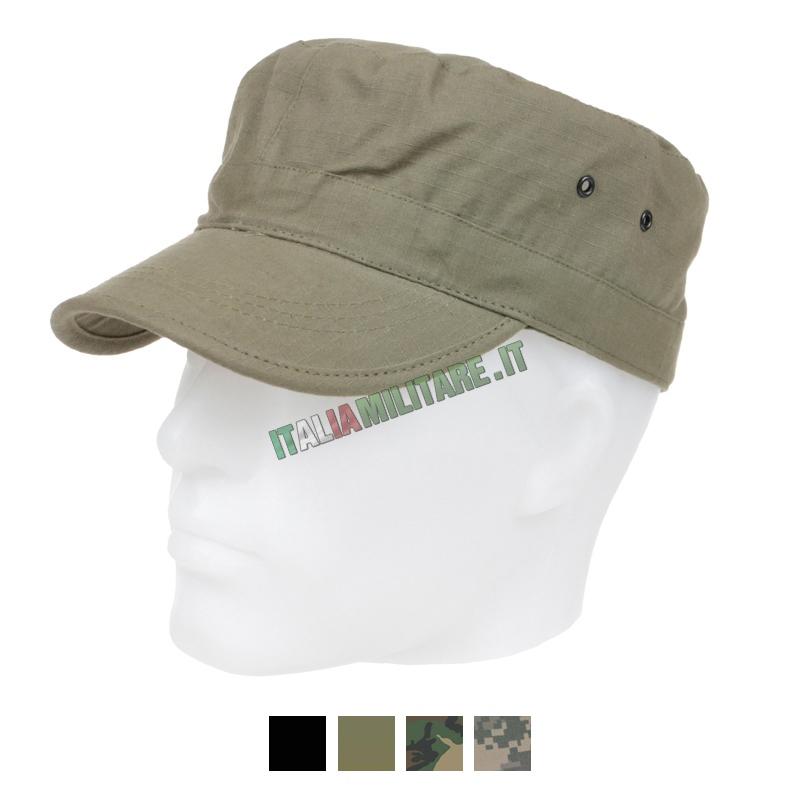 Cappello 100% Cotone RipStop Militare