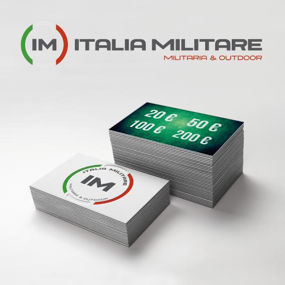 Carta Regalo Italia Militare PERSONALIZZATA