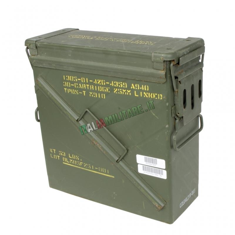 Scatola Box Munizioni Militare Tipo 4 Nato