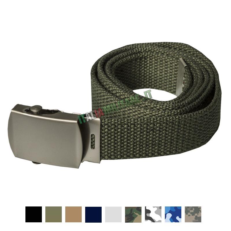 Cintura Classica con Fibbia Metallo