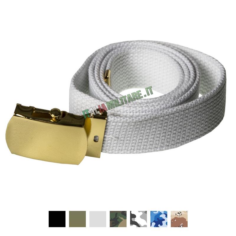 Cintura Classica con Fibbia Oro