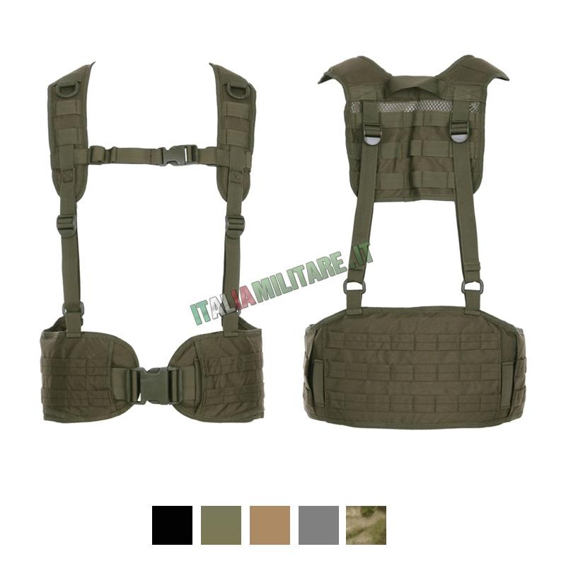 Cinturone Tattico con Spallacci 101 INC