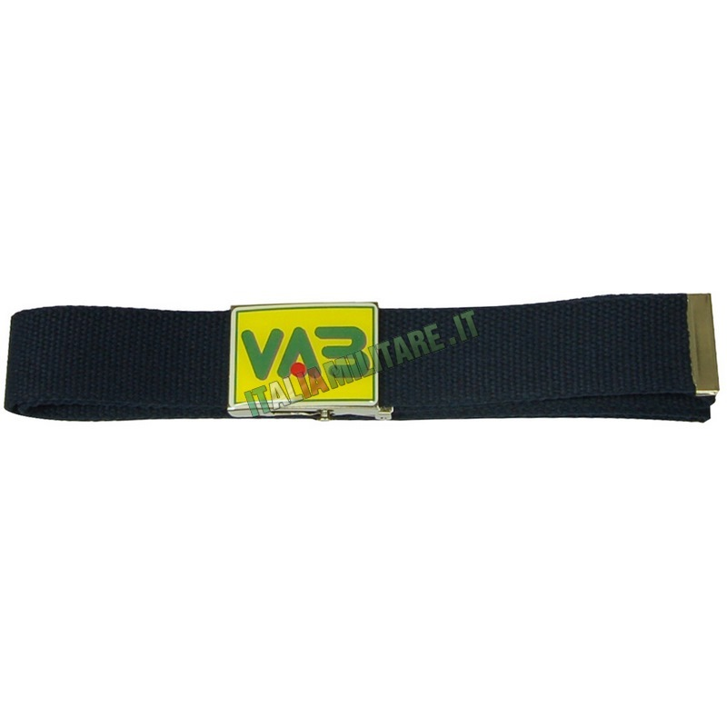 Cintura in Corda con Fibbia in Metallo VAB