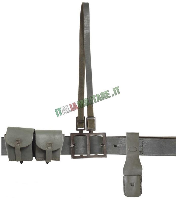 Cintura Italiana Seconda Guerra Mondiale Militare Originale