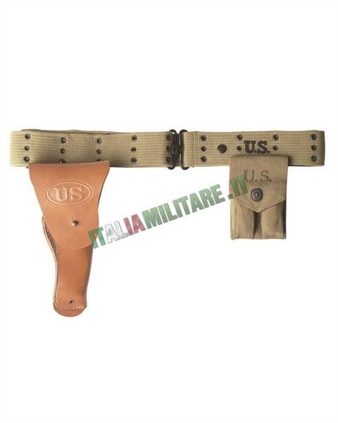 Cinturone Militare Americano WWII mod M36