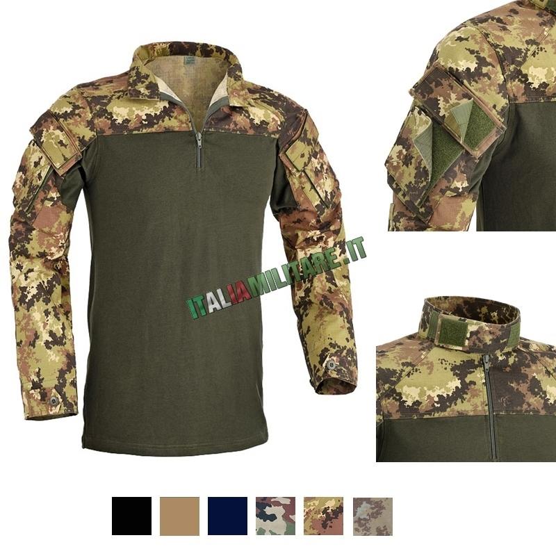 Combat Shirt Defcon 5 in Cotone Elasticizzato