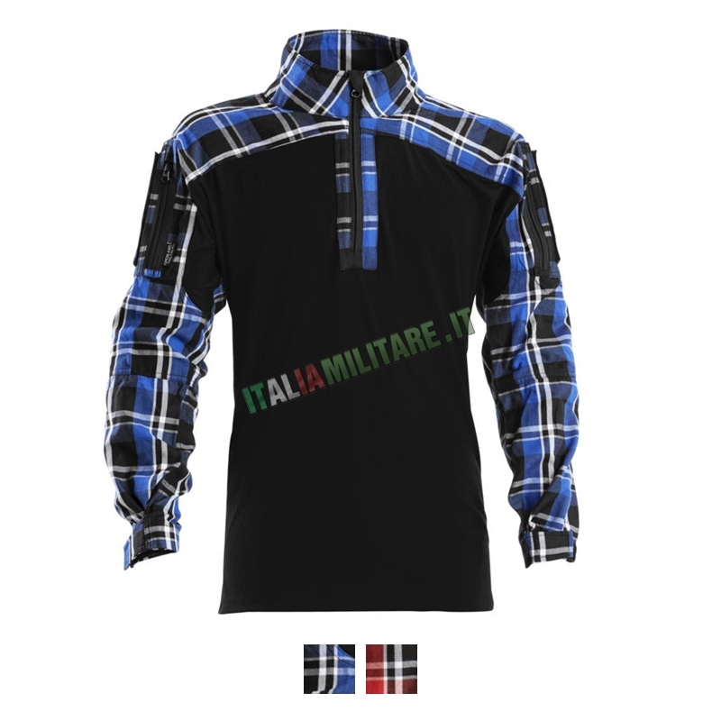 Combat Shirt in Flanella Openland