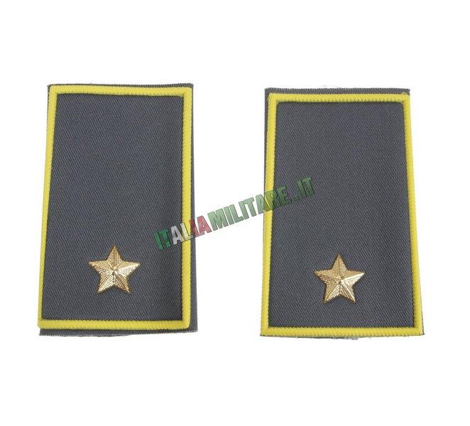 Coppia di Gradi Guardia di Finanza da Sottotenente