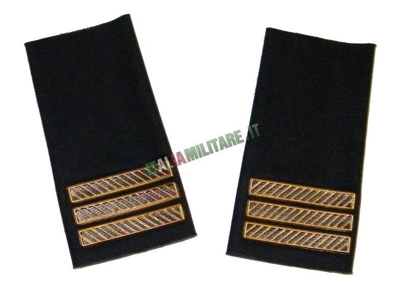 Coppia di Gradi Marina Militare Italiana Capo 1° Classe