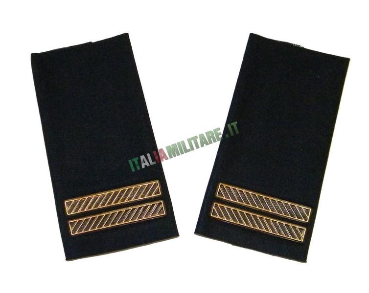 Coppia di Gradi Marina Militare Italiana Capo 2° Classe