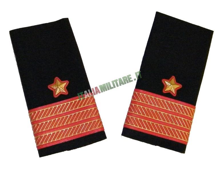 Coppia di Gradi Marina Militare Italiana 1° Maresciallo Luogotenente